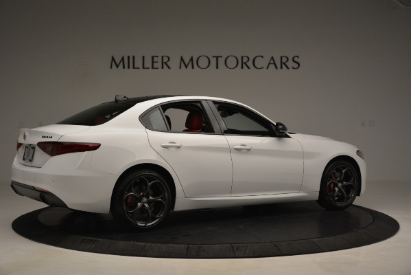 New 2019 Alfa Romeo Giulia Q4 for sale Sold at Alfa Romeo of Westport in Westport CT 06880 8