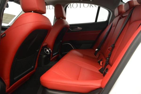 New 2019 Alfa Romeo Giulia Q4 for sale Sold at Alfa Romeo of Westport in Westport CT 06880 19