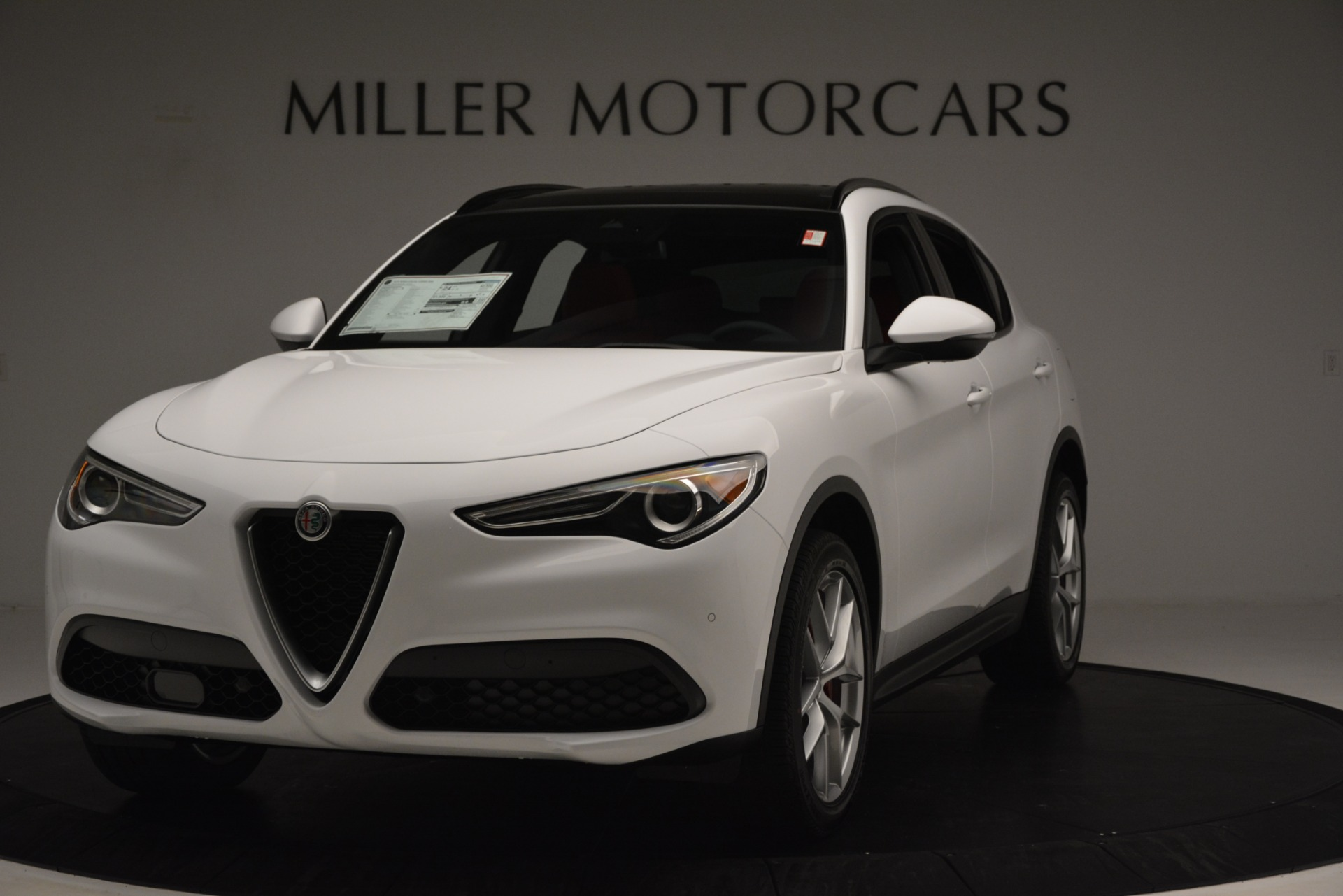 New 2019 Alfa Romeo Stelvio Ti Sport Q4 for sale Sold at Alfa Romeo of Westport in Westport CT 06880 1