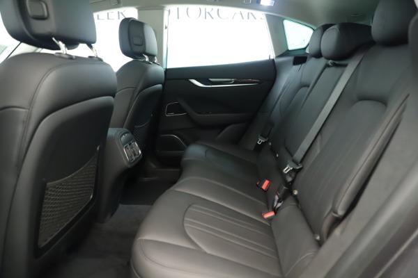 New 2019 Maserati Levante Q4 Nerissimo for sale $89,850 at Alfa Romeo of Westport in Westport CT 06880 19