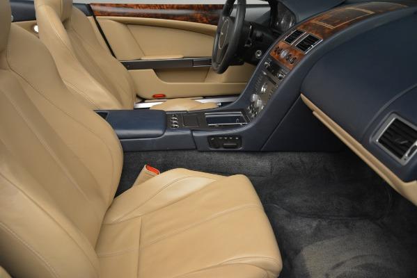 Used 2007 Aston Martin DB9 Convertible for sale Sold at Alfa Romeo of Westport in Westport CT 06880 20
