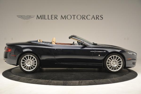 Used 2007 Aston Martin DB9 Convertible for sale Sold at Alfa Romeo of Westport in Westport CT 06880 9