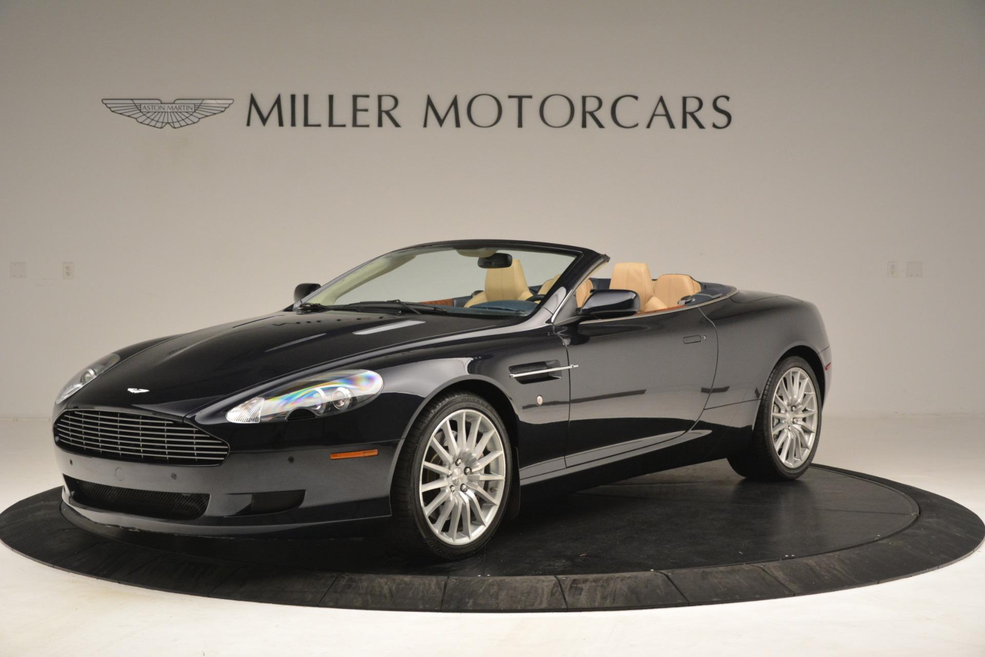 Used 2007 Aston Martin DB9 Convertible for sale Sold at Alfa Romeo of Westport in Westport CT 06880 1