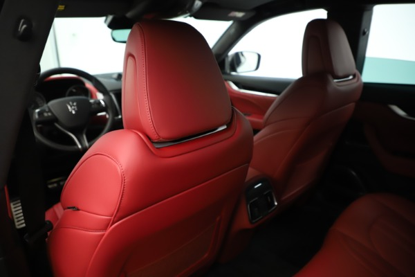 New 2019 Maserati Levante Q4 GranSport Nerissimo for sale Sold at Alfa Romeo of Westport in Westport CT 06880 20