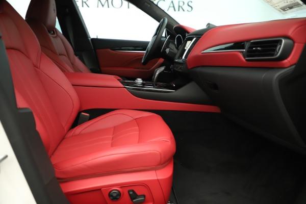 New 2019 Maserati Levante Q4 GranSport Nerissimo for sale Sold at Alfa Romeo of Westport in Westport CT 06880 23