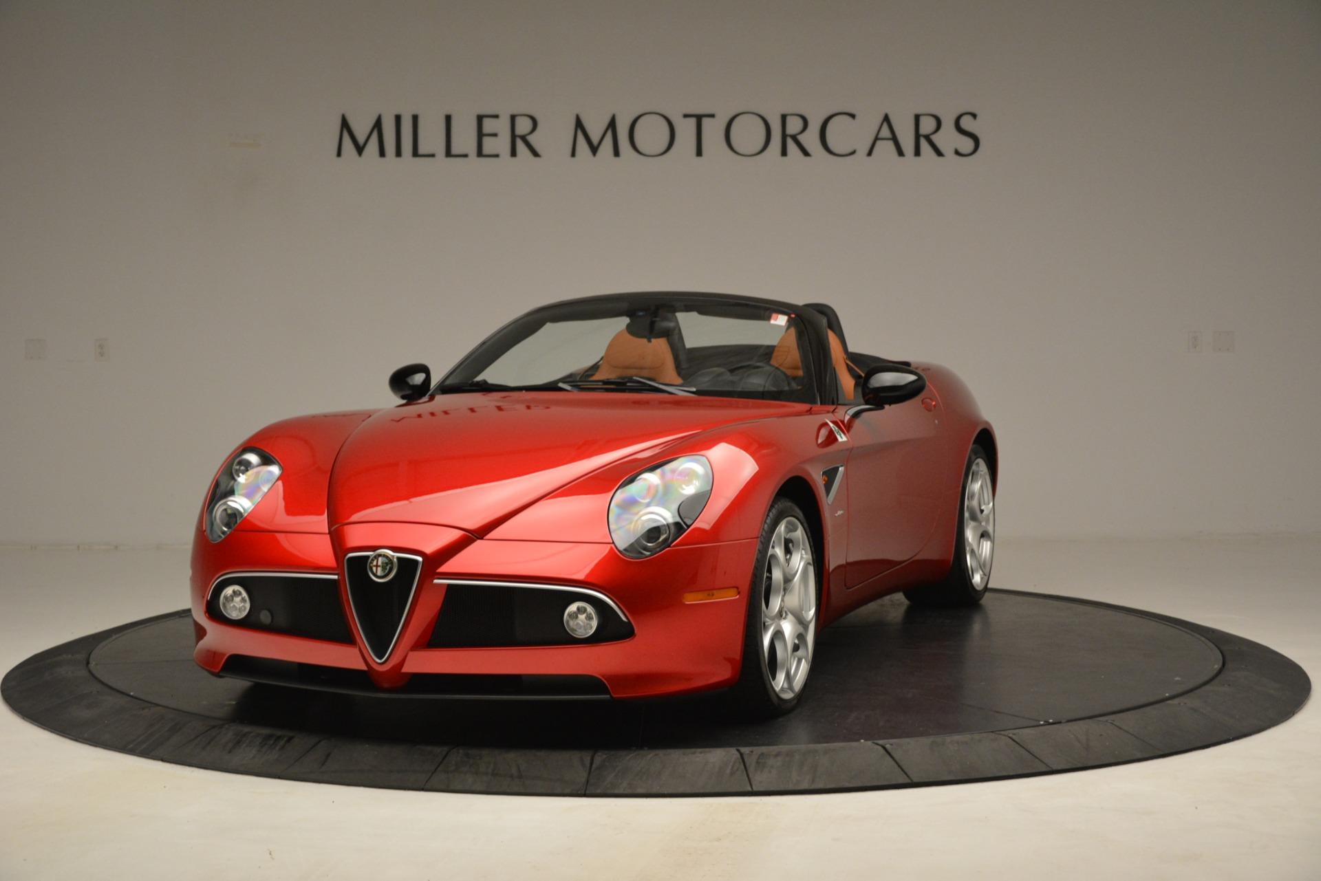 Used 2009 Alfa Romeo 8c Spider for sale Sold at Alfa Romeo of Westport in Westport CT 06880 1