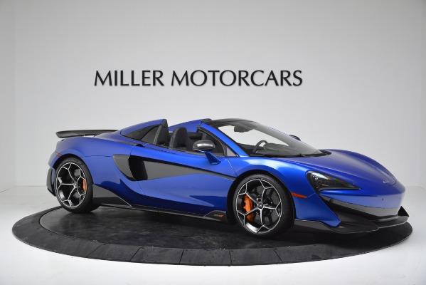 New 2020 McLaren 600LT SPIDER Convertible for sale Sold at Alfa Romeo of Westport in Westport CT 06880 10