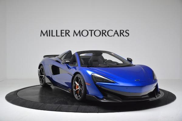 New 2020 McLaren 600LT SPIDER Convertible for sale Sold at Alfa Romeo of Westport in Westport CT 06880 11