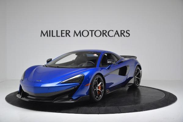 New 2020 McLaren 600LT SPIDER Convertible for sale Sold at Alfa Romeo of Westport in Westport CT 06880 12