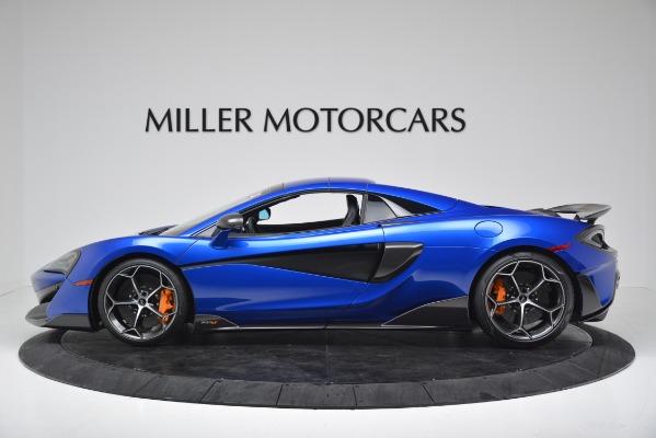 New 2020 McLaren 600LT SPIDER Convertible for sale Sold at Alfa Romeo of Westport in Westport CT 06880 13