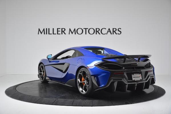 New 2020 McLaren 600LT SPIDER Convertible for sale $304,970 at Alfa Romeo of Westport in Westport CT 06880 14
