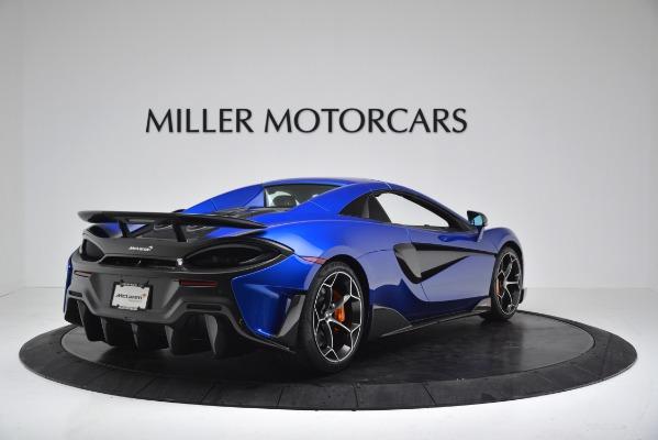New 2020 McLaren 600LT SPIDER Convertible for sale Sold at Alfa Romeo of Westport in Westport CT 06880 15