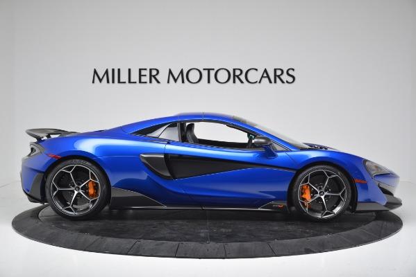 New 2020 McLaren 600LT SPIDER Convertible for sale $304,970 at Alfa Romeo of Westport in Westport CT 06880 16