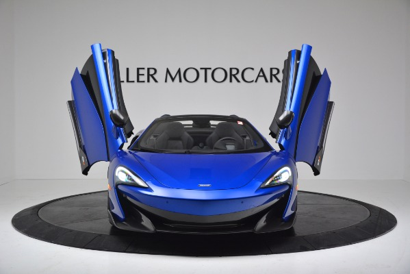 New 2020 McLaren 600LT SPIDER Convertible for sale $304,970 at Alfa Romeo of Westport in Westport CT 06880 18