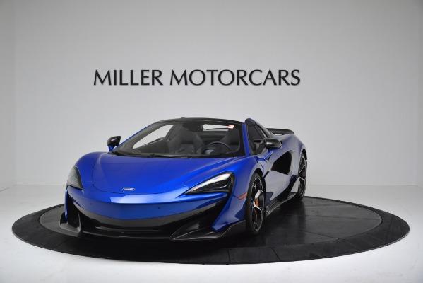 New 2020 McLaren 600LT SPIDER Convertible for sale $304,970 at Alfa Romeo of Westport in Westport CT 06880 2