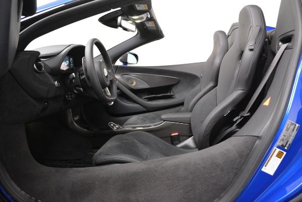 New 2020 McLaren 600LT SPIDER Convertible for sale $304,970 at Alfa Romeo of Westport in Westport CT 06880 20