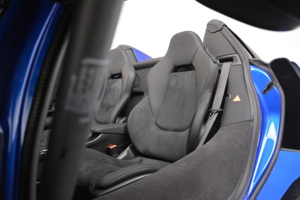New 2020 McLaren 600LT SPIDER Convertible for sale $304,970 at Alfa Romeo of Westport in Westport CT 06880 21