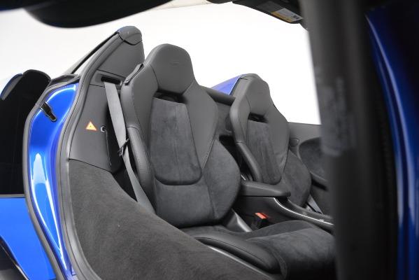 New 2020 McLaren 600LT SPIDER Convertible for sale $304,970 at Alfa Romeo of Westport in Westport CT 06880 24