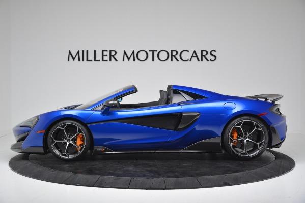 New 2020 McLaren 600LT SPIDER Convertible for sale $304,970 at Alfa Romeo of Westport in Westport CT 06880 3