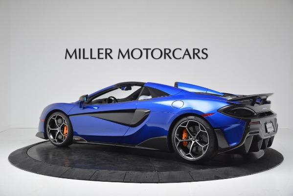 New 2020 McLaren 600LT SPIDER Convertible for sale $304,970 at Alfa Romeo of Westport in Westport CT 06880 4