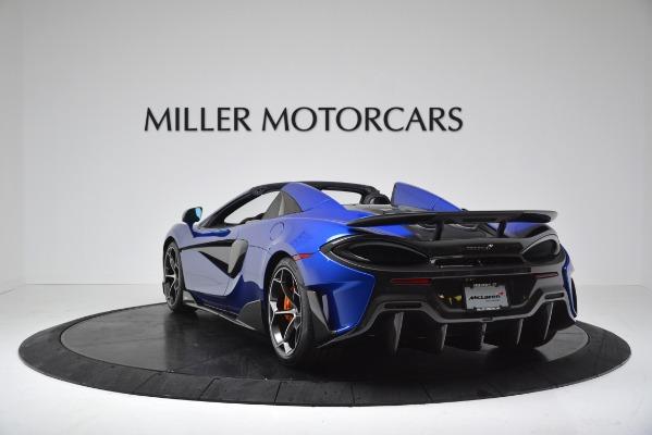 New 2020 McLaren 600LT SPIDER Convertible for sale $304,970 at Alfa Romeo of Westport in Westport CT 06880 5