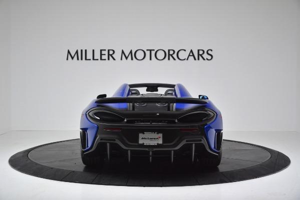 New 2020 McLaren 600LT SPIDER Convertible for sale $304,970 at Alfa Romeo of Westport in Westport CT 06880 6
