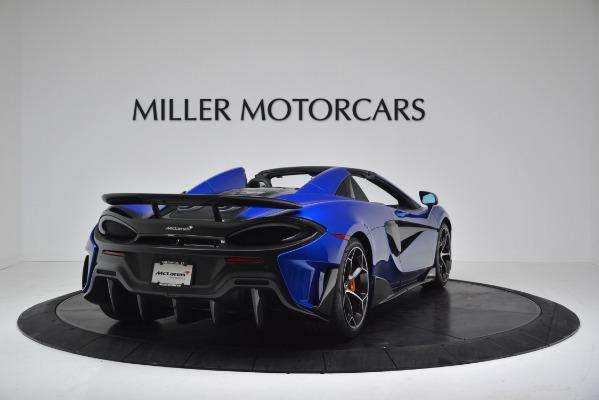New 2020 McLaren 600LT SPIDER Convertible for sale Sold at Alfa Romeo of Westport in Westport CT 06880 7