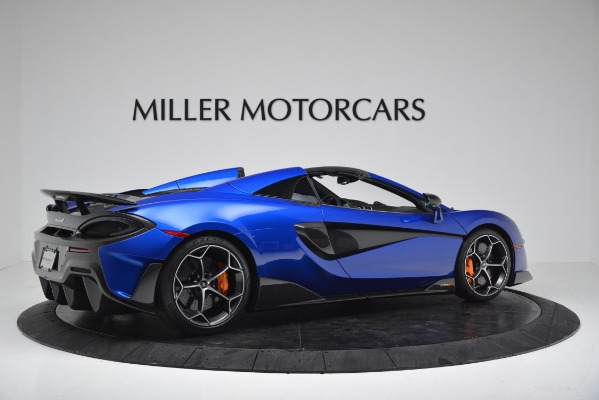 New 2020 McLaren 600LT SPIDER Convertible for sale $304,970 at Alfa Romeo of Westport in Westport CT 06880 8