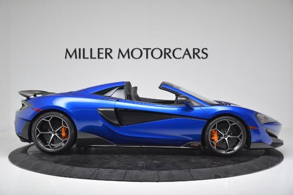 New 2020 McLaren 600LT SPIDER Convertible for sale $304,970 at Alfa Romeo of Westport in Westport CT 06880 9