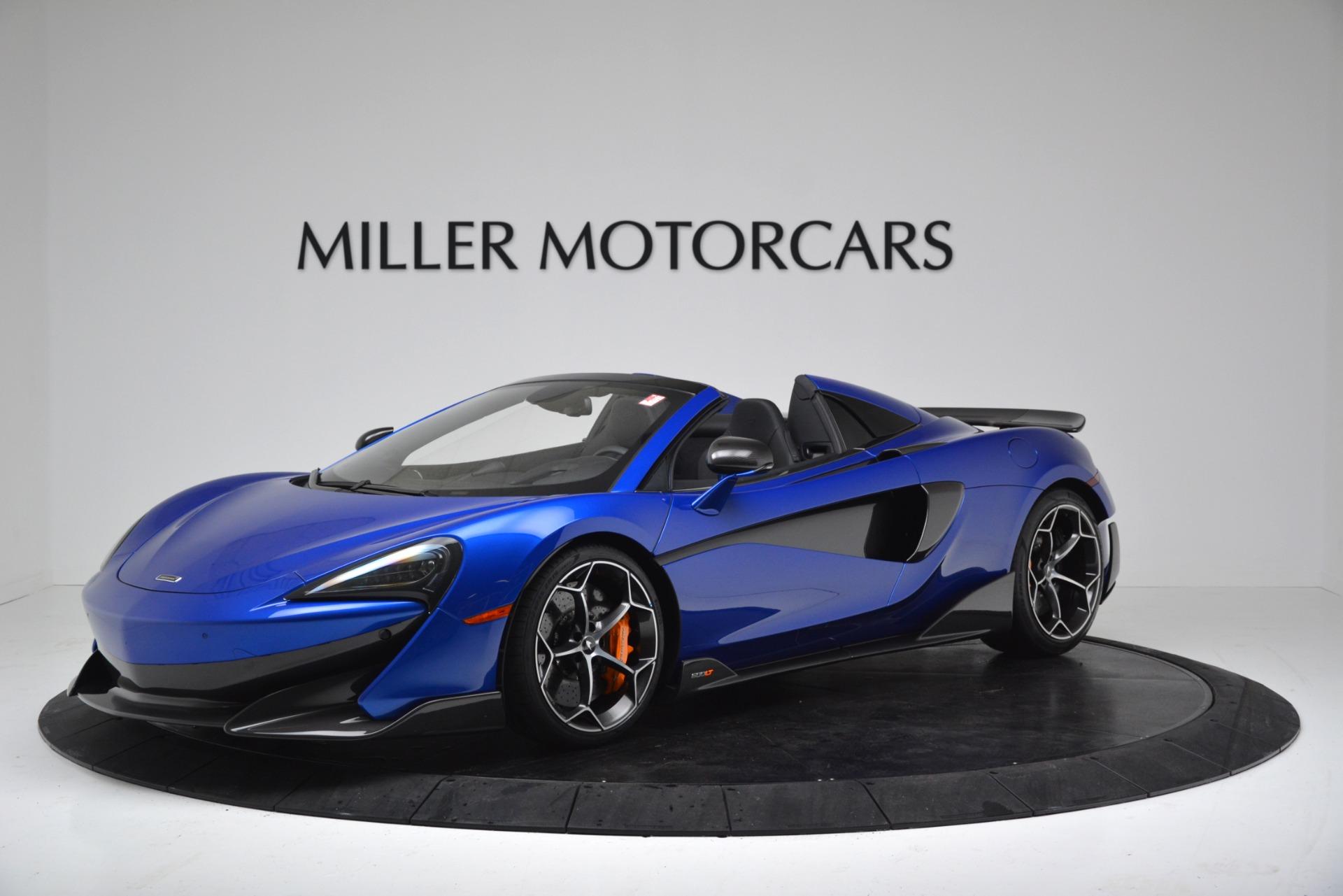 New 2020 McLaren 600LT SPIDER Convertible for sale $304,970 at Alfa Romeo of Westport in Westport CT 06880 1