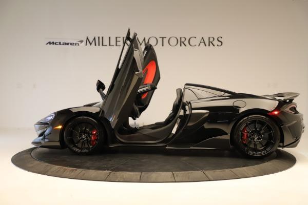 Used 2020 McLaren 600LT Spider for sale $249,900 at Alfa Romeo of Westport in Westport CT 06880 18
