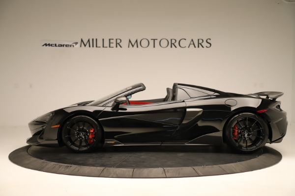 Used 2020 McLaren 600LT Spider for sale $249,900 at Alfa Romeo of Westport in Westport CT 06880 2