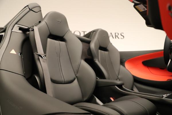 Used 2020 McLaren 600LT Spider for sale $249,900 at Alfa Romeo of Westport in Westport CT 06880 25