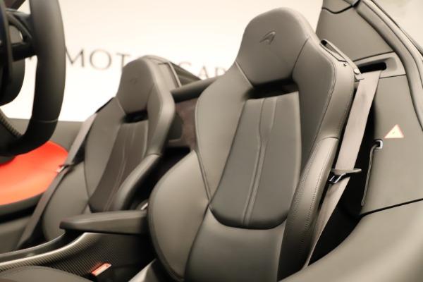 Used 2020 McLaren 600LT Spider for sale $249,900 at Alfa Romeo of Westport in Westport CT 06880 27