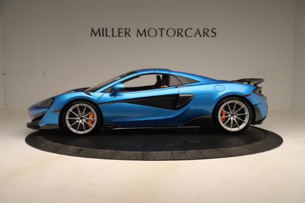 New 2020 McLaren 600LT SPIDER Convertible for sale $303,059 at Alfa Romeo of Westport in Westport CT 06880 11