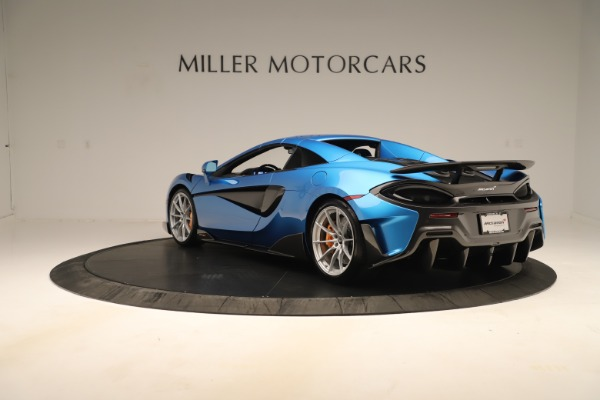 New 2020 McLaren 600LT SPIDER Convertible for sale $303,059 at Alfa Romeo of Westport in Westport CT 06880 12