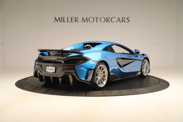 New 2020 McLaren 600LT SPIDER Convertible for sale $303,059 at Alfa Romeo of Westport in Westport CT 06880 14