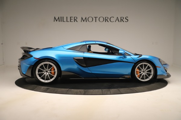 New 2020 McLaren 600LT SPIDER Convertible for sale $303,059 at Alfa Romeo of Westport in Westport CT 06880 15