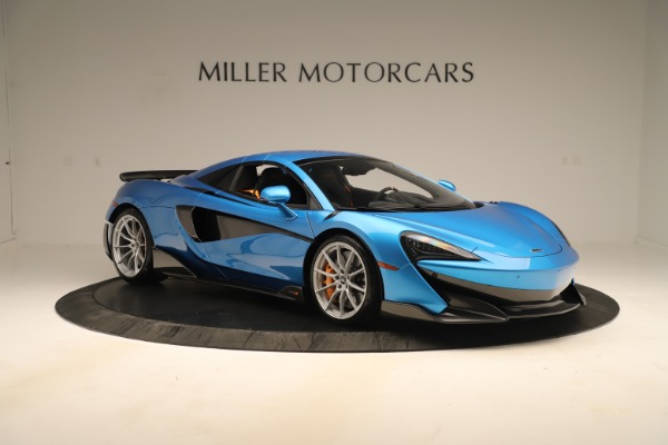 New 2020 McLaren 600LT SPIDER Convertible for sale $303,059 at Alfa Romeo of Westport in Westport CT 06880 16