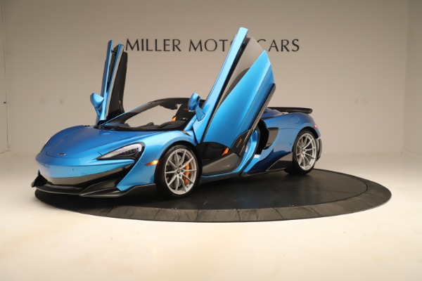 New 2020 McLaren 600LT SPIDER Convertible for sale $303,059 at Alfa Romeo of Westport in Westport CT 06880 18