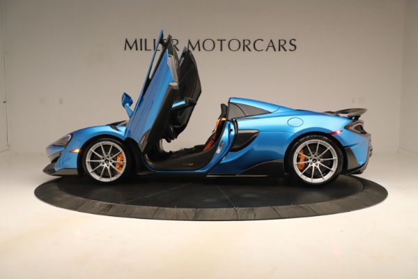 New 2020 McLaren 600LT SPIDER Convertible for sale $303,059 at Alfa Romeo of Westport in Westport CT 06880 19