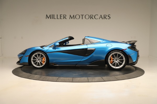 New 2020 McLaren 600LT SPIDER Convertible for sale $303,059 at Alfa Romeo of Westport in Westport CT 06880 2