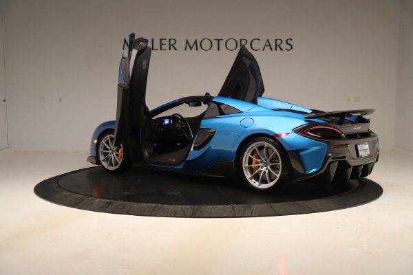 New 2020 McLaren 600LT SPIDER Convertible for sale $303,059 at Alfa Romeo of Westport in Westport CT 06880 20