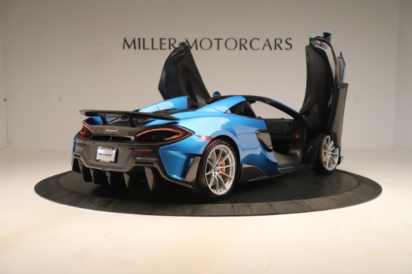 New 2020 McLaren 600LT SPIDER Convertible for sale $303,059 at Alfa Romeo of Westport in Westport CT 06880 22