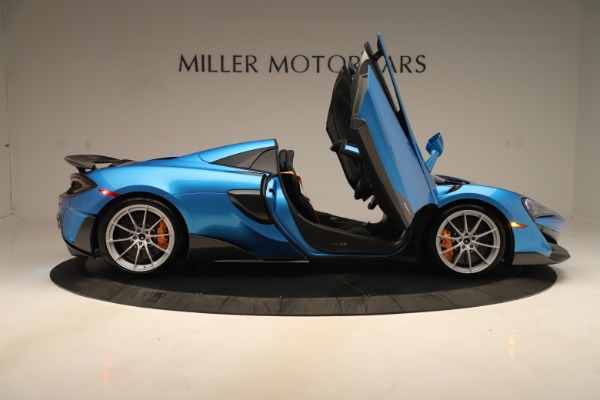 New 2020 McLaren 600LT SPIDER Convertible for sale $303,059 at Alfa Romeo of Westport in Westport CT 06880 23