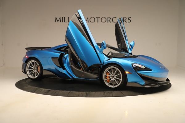 New 2020 McLaren 600LT SPIDER Convertible for sale $303,059 at Alfa Romeo of Westport in Westport CT 06880 24