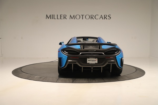 New 2020 McLaren 600LT SPIDER Convertible for sale $303,059 at Alfa Romeo of Westport in Westport CT 06880 4