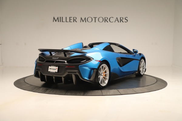 New 2020 McLaren 600LT SPIDER Convertible for sale $303,059 at Alfa Romeo of Westport in Westport CT 06880 5