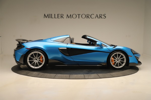 New 2020 McLaren 600LT SPIDER Convertible for sale $303,059 at Alfa Romeo of Westport in Westport CT 06880 6