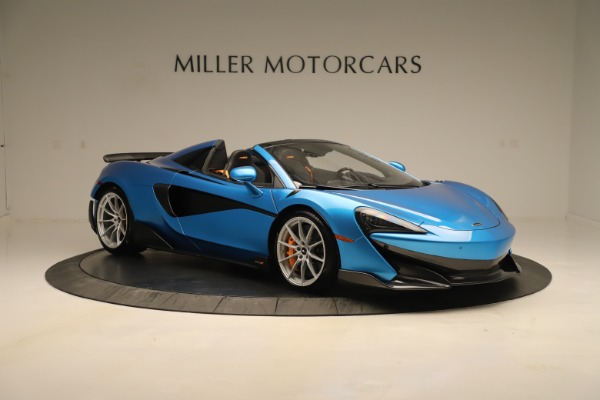 New 2020 McLaren 600LT SPIDER Convertible for sale $303,059 at Alfa Romeo of Westport in Westport CT 06880 7